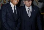 Giorgio Armani et Martin Scorsese
