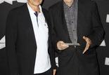 Jean-Pierre Mocky et son producteur Jean-Maurice Belayche