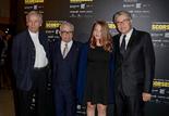 Martin Scorsese et sa fille Francesca, entourés de Costa-Gavras et Serge Toubiana