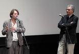 Mathieu Amalric et Serge Toubiana