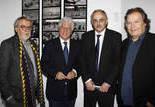 Alain Bergala (Commissaire de l'exposition), Ninetto Davoli, Gereon Sievernich, Jordi Balló (Commissaire de l'exposition)
