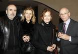 Philippe et Sylvie Harel, Isabelle Huppert et James B. Harris