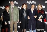 Agathe Natanson, Jean-Pierre Marielle, Nathalie Baye, Richard Anconina et Sandrine Bonnaire