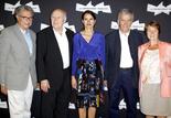 Serge Toubiana, Michel Piccoli, Aurélie Filippetti, ministre de la culture et de la Communication, Costa-Gavras, Catherine Tasca