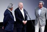 Costa-Gavras, Michel Piccoli et Serge Toubiana
