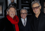 Roman Polanski, Martin Scorsese et Harvey Keitel
