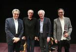 Serge Toubiana, Luc et Jean-Pierre Dardenne, Bernard Benoliel
