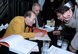 """Signature du livre """"C'est ça Pierre Étaix"""""""