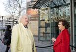 Jean Douchet et Claudia Cardinale