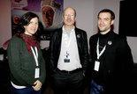 Margaret Bodde (directrice exécutive de la Film Foundation), Martin Koerber (conservateur à la Deutsche Kinemathek) et Olivier Hanley (chercheur au Filmmuseum de Vienne)