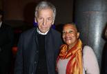 Costa-Gavras et Christiane Taubira - Ouverture de la rétrospective Jane Fonda à la Cinémathèque française © Thierry Stefanopoulos