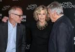 Thierry Fremaux, Jane Fonda et Costa-Gavras - Ouverture de la rétrospective Jane Fonda à la Cinémathèque française © Thierry Stefanopoulos