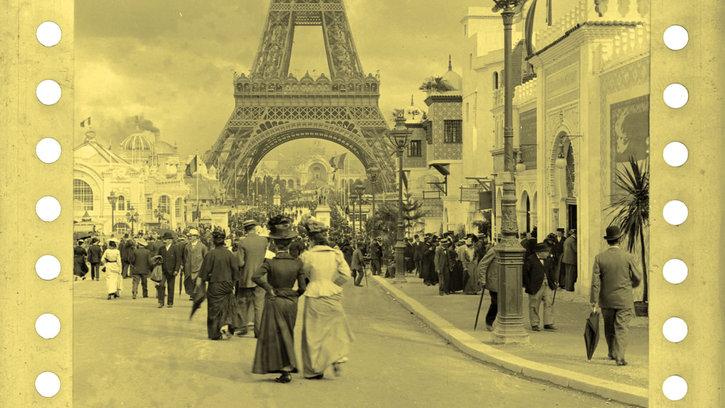 Ciné-concert. Les Films 75mm Lumière de l'Exposition 1900, suivis du Phono-Cinéma-Théâtre