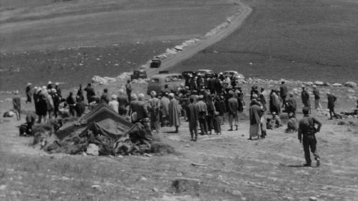 La Distribution de pain (Réfugiés algériens en Tunisie)