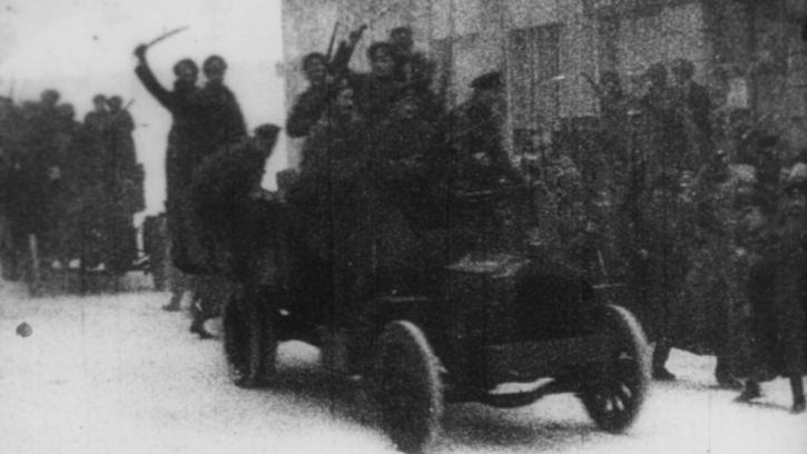 Journée d'étude (2) : «L'Anniversaire de la Révolution» (1918), un film retrouvé de Dziga Vertov. Conférence de Nikolaï Izvolov