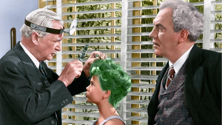 Le Garçon aux cheveux verts