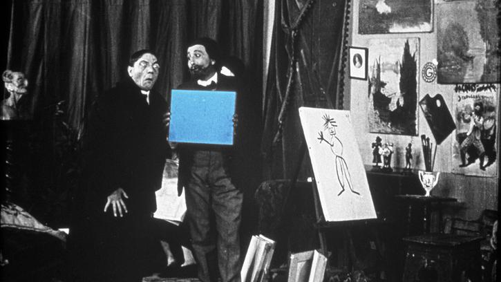 Le Peintre néo-impressionniste