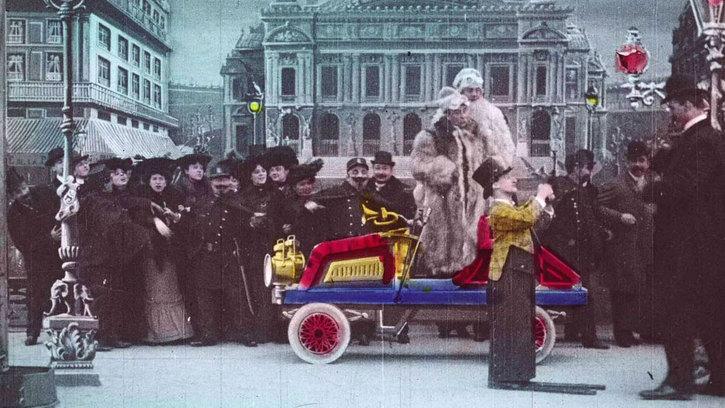 Le Raid Paris-Monte-Carlo en automobile