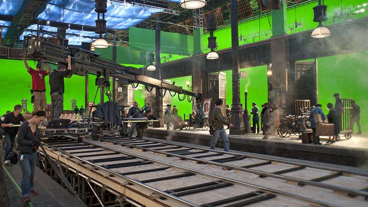 Machinerie et nouvelles images: l'exemple de la grue télécommandée Louma. Conférence de Jean-Marie Lavalou, Alain Masseron, Nicolas Pollacchi et François Reumont