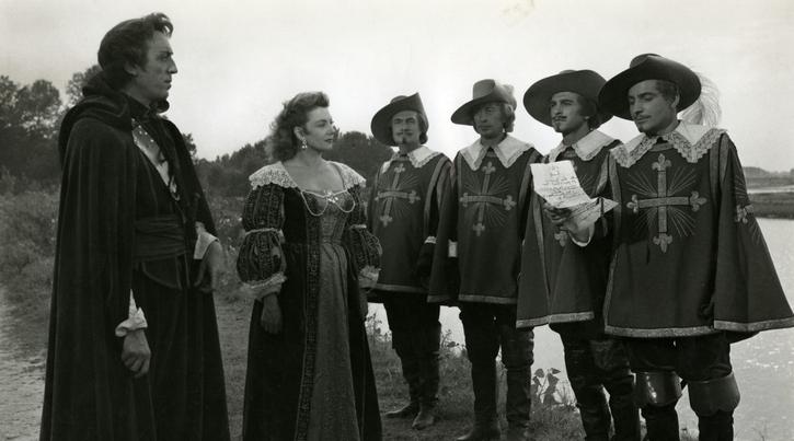 Milady et les mousquetaires