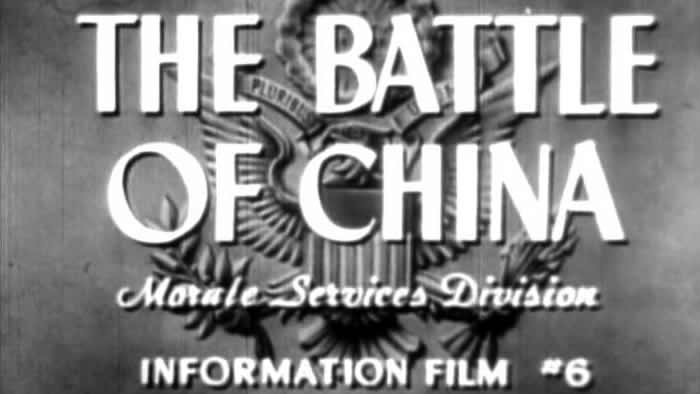 Why We Fight : The Battle of China