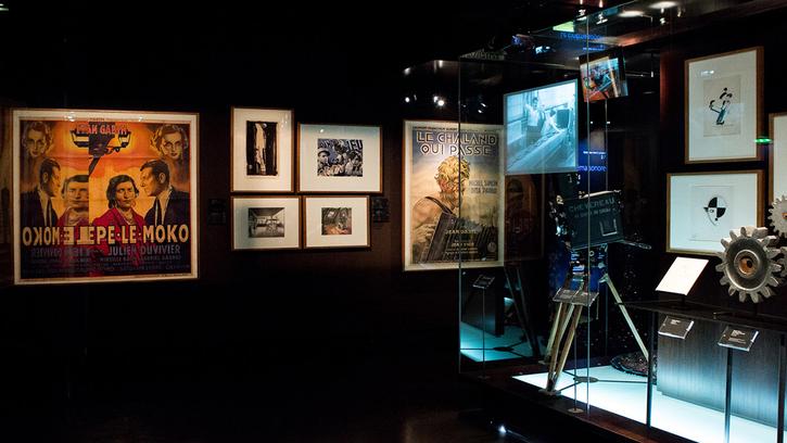 Visite du Musée du cinéma
