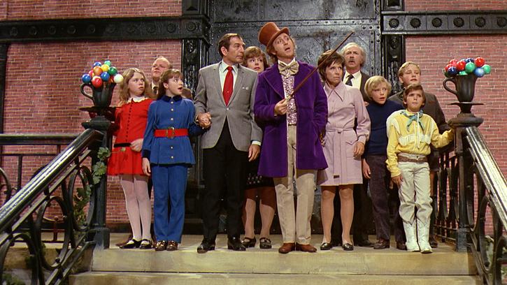 Willy Wonka au pays enchanté