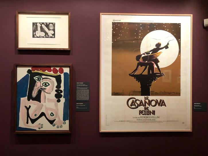 Visite guidée de l'exposition Quand Fellini rêvait de Picasso