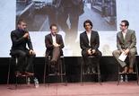 Oscar Isaac, Ethan Coen, Joen Coen et Bernard Benoliel
