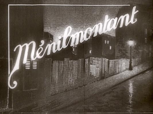 Ménilmontant - Dimitri Kirsanoff - 1924 - Collections La Cinémathèque française