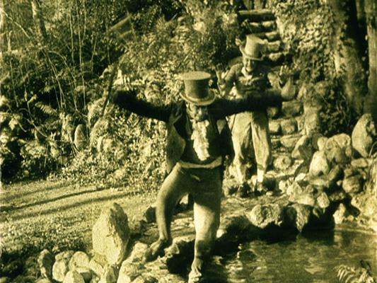 Oh Mabel Behave - Mack Sennett et Ford Sterling - 1917 - Collections La Cinémathèque française