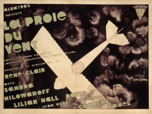 La Proie du vent - René Clair - 1926 - Collections La Cinémathèque française -Boris Bilinsky © ADAGP