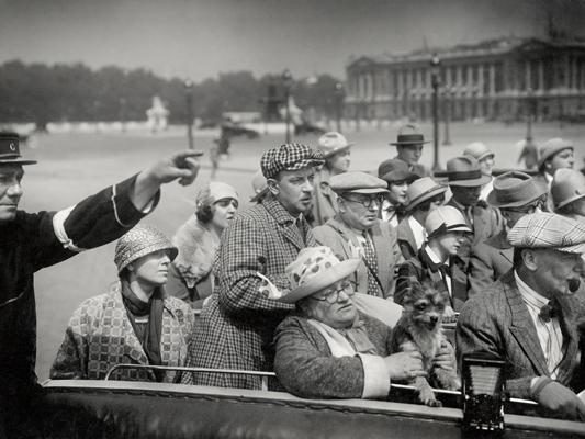 Paris en cinq jours - Nicolas Rimsky, Pière Colombier - 1925 - Collections La Cinémathèque française