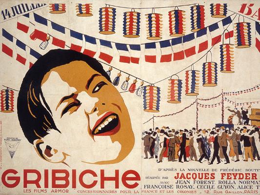 Gribiche - Jacques Feyder -1925 -  Collection  Cinémathèque française- Alain Cuny © Alain Cuny