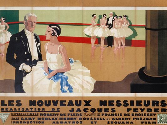 Les Nouveaux messieurs - Jacques Feyder - 1928 - Collections La Cinémathèque française - Jean-Adrien Mercier © ADAGP