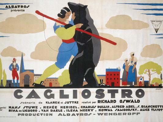 Cagliostro - Richard Oswald - 1929 - Collections La Cinémathèque française © ADAGP