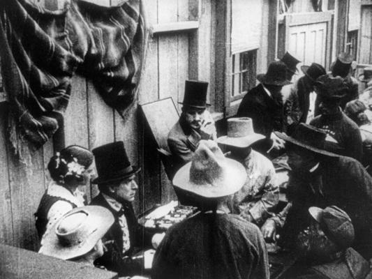 The Cold Deck  - William S. Hart - 1917 - Collections La Cinémathèque française
