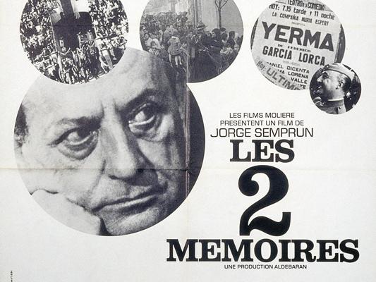 Les Deux mémoires-Jorge Semprun-1972-Collections La Cinémathèque française