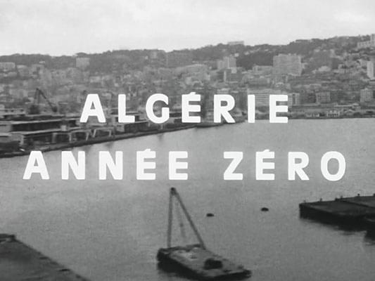 Algérie, année zéro