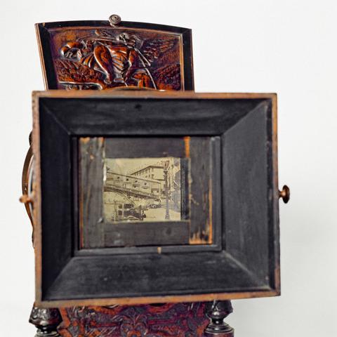 bo te d 39 optique ap 95 1613 collection catalogue des appareils cin matographiques la. Black Bedroom Furniture Sets. Home Design Ideas