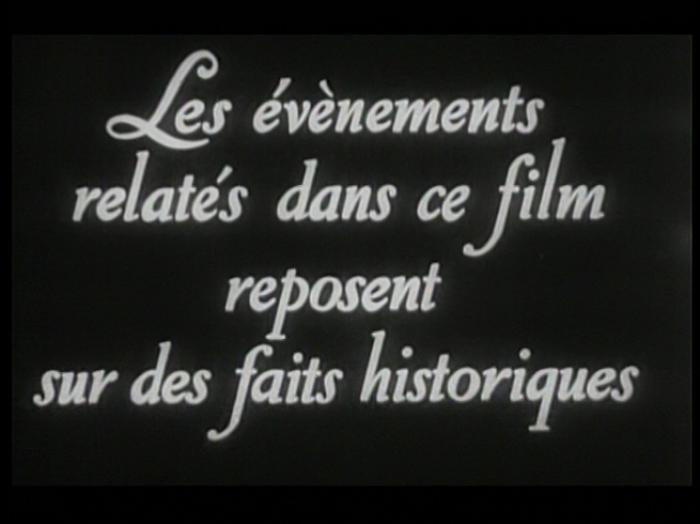 Le Chagrin et la pitié (Marcel Ophuls, 1969) - Générique