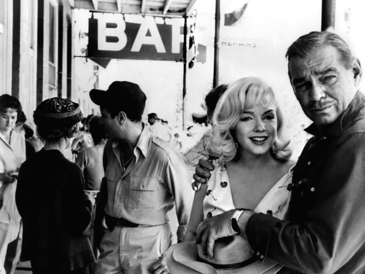 Les Desaxes The Misfits John Huston
