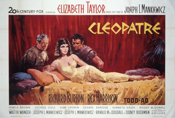 Affiche de Cléopâtre