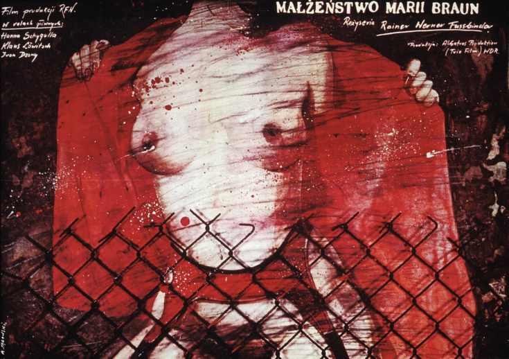 Affiche Le Mariage de Maria Braun (Fassbinder)