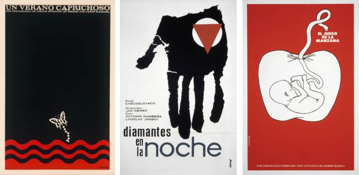 Affiches Cubaines NV Tchèque