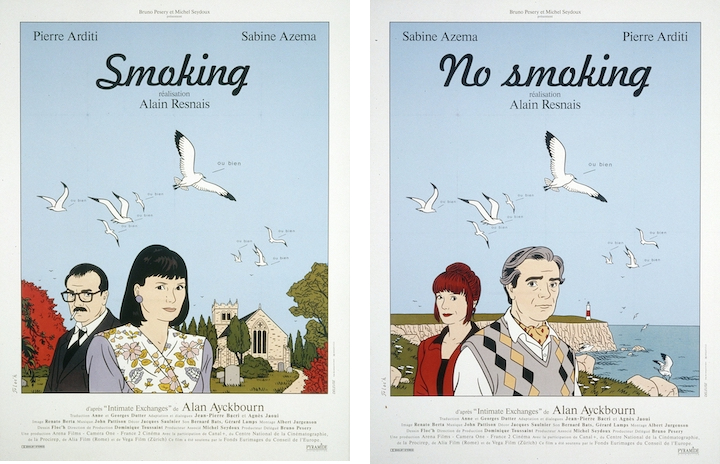 Affiches de Floc'h pour Smoking / No Smoking © ADAGP