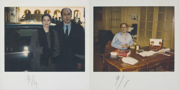 Agnès Jaoui et Jean-Pierre Bacri, scénaristes et acteurs d'« On connaît la chanson » / Nicolas (Bacri) chante « J'ai la rate qui se dilate » (Photos de tournage Sylvette Baudrot)