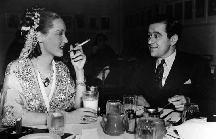 Bette Davis et William Wyler sur Jezebel