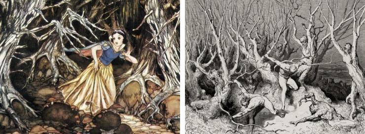 Blanche-Neige / Gustave Doré