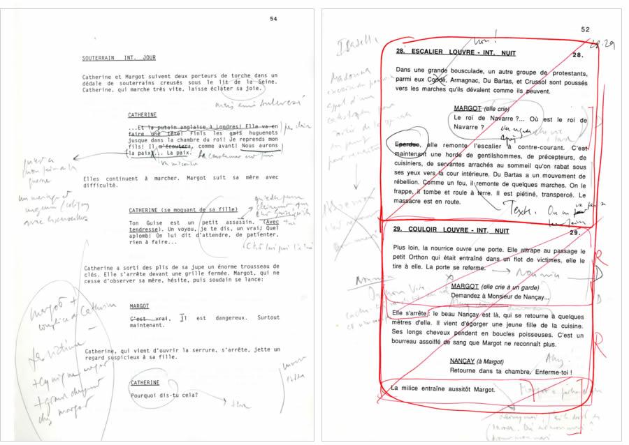 Déoupage technique : versions juin-juillet 1990 et avril 1993